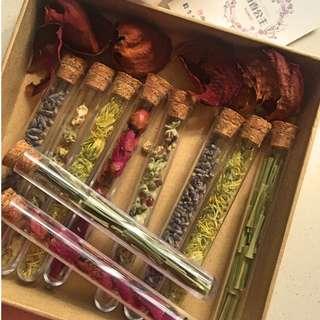 Flower Tea Test Tube