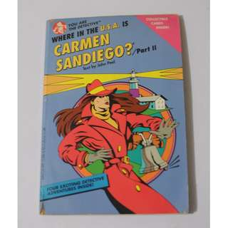 Where in the USA is Carmen San Diego?