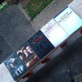 The Twilight Saga DVD's (Complete)