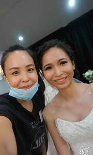 Wedding Day and Night professional makeup and hairdo service