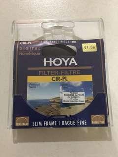 Hoya circular polarizer 67mm