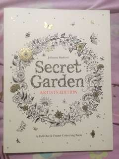 NEW Secret Garden Coloring Book by Johanna Basford