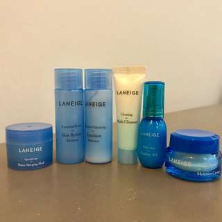 Laneige Skin Care Bundle