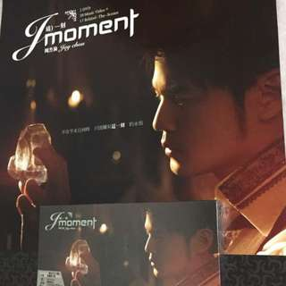 Imported Jay Chou J Moment DVD with original poster