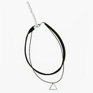 free mail* Double line chocker