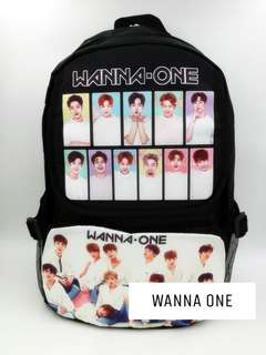 (Readystock) kpop picture backpack