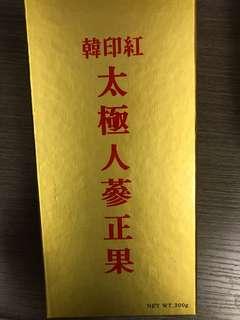 韓印紅太極人蔘正果300g