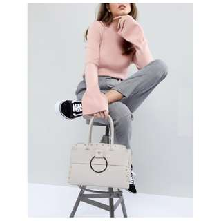 New Yoki Fashion Grey Tote Bag