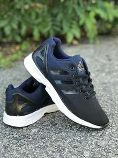 ecd72a333f9e5 Adidas ZX Flux Black Blue