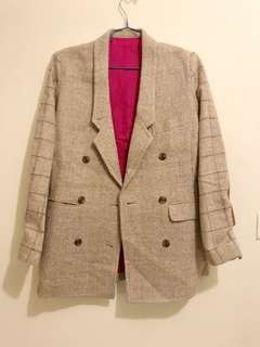 Another cotton wool women coat
