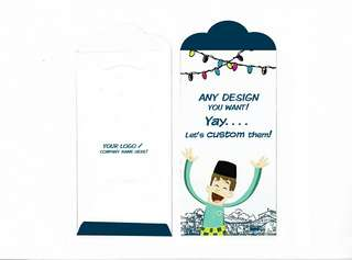 Custom Sampul Raya Design Anda
