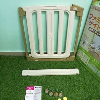 Nihon Ikuji baby safety gate with 1 extension