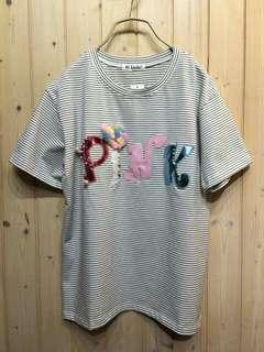 🚚 一套售550~立體球球PINK上衣+深藍色造型裙