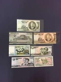 🚚 北韓紙鈔