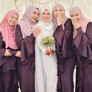 BAJU KURUNG BRIDESMAIDS MURAHH