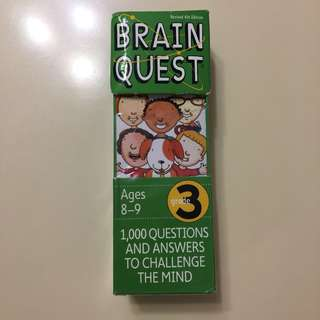 Brain Quest Grade 3 - 8-9 Years old