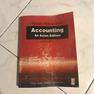 Accounting an Asian edition (2nd ed)