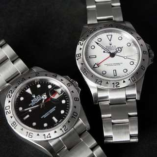 WTT Rolex 16570 Explorer II Black for White