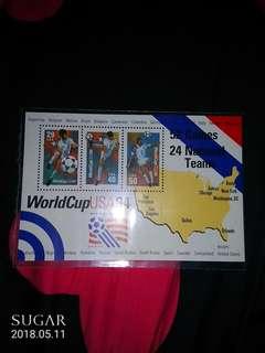 WorldCupUSA94紀念郵票