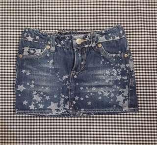 Short Skirt Jeans