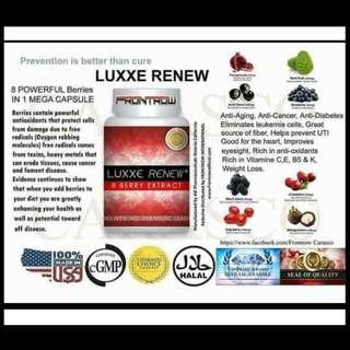 luxxe renew 60 capsules per bottle