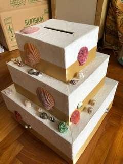 Sea shell Ang pao box