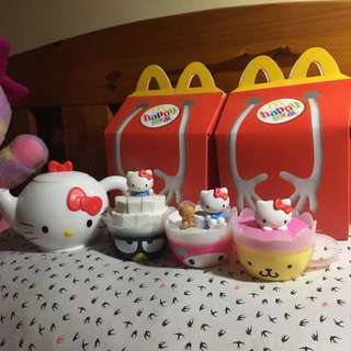 Hello Kitty Tea Set Happy Meal