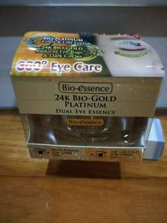 Bio Essence 24K Bio Gold Platinum Dual Eye Essence 18g