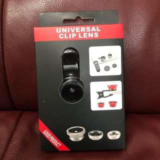 手機魚眼鏡頭3合一 3 in 1 Clip on Universal Phone Camera Lens Kit