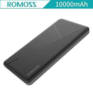 ROMOSS PIE 10 Mosaic Slim 10000mah Powerbank black