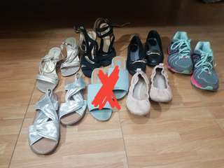 Shoes! Assorted styles and colors FITS 5.5 - 6!