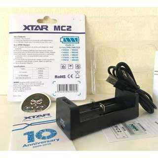 xtar mc2 original battery charger