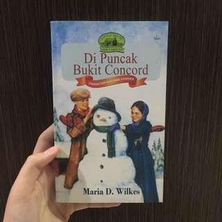Novel Di Puncak Bukit Concord by Maria D. Wilkes
