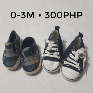 Shoes for baby boy 0-3m