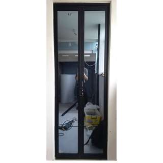 全新超平摺門巴士門定制aluminum folding door customization