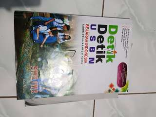 Buku Detik USBN Sejarah Indonesia 2018