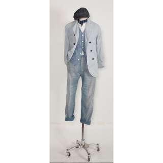 double rl vest pants
