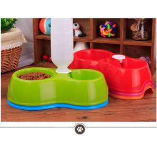 2in1 Pet Food Bowl / Fountain drinking bowl/ cats and dogs