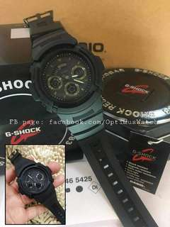 GSHOCK BLACK OUT