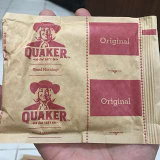 QUAKER OATS IN POUCH