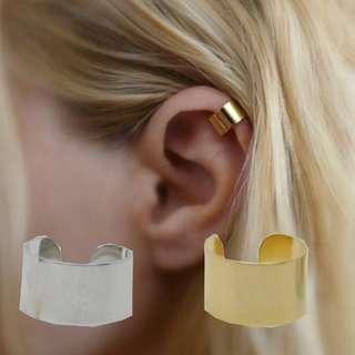 Ear cuffs gold/silver
