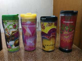 Starbucks Tumblers Bundle 1