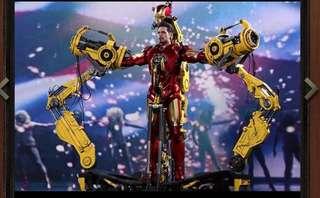 Hot toys Ironman mark IV suit up gantry 單