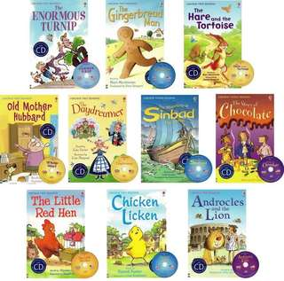 Usborne Young Reading Series (10 books)