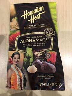 夏威夷朱古力 Hawaiian chocolate