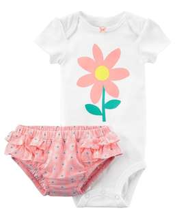 Brand New Carters Onesie & Diaper Cover