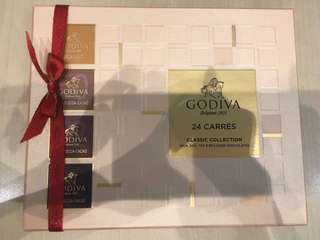 Godiva 朱古力 chocolate
