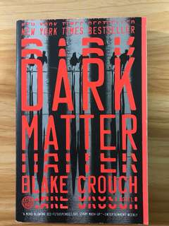 Dark Matters Blake Crounch