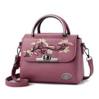 Flowery handbag