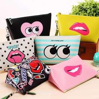 Women makeup cosmetics Bag / Pouch